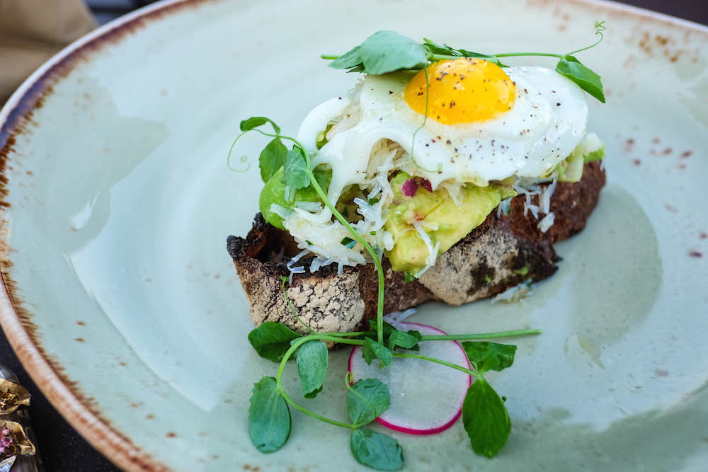 The Wequassett Resort and Golf Club - Crab Avocado Toast