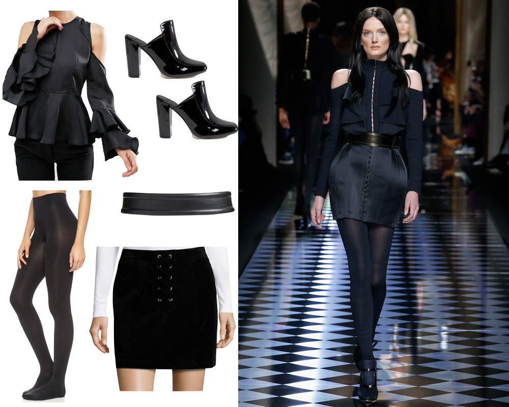 Kelly's Chic Under $100 - Runway Style for Under $100 - Fall 2016 - The Stripe Blog // Inspired by Balmain FW 2016