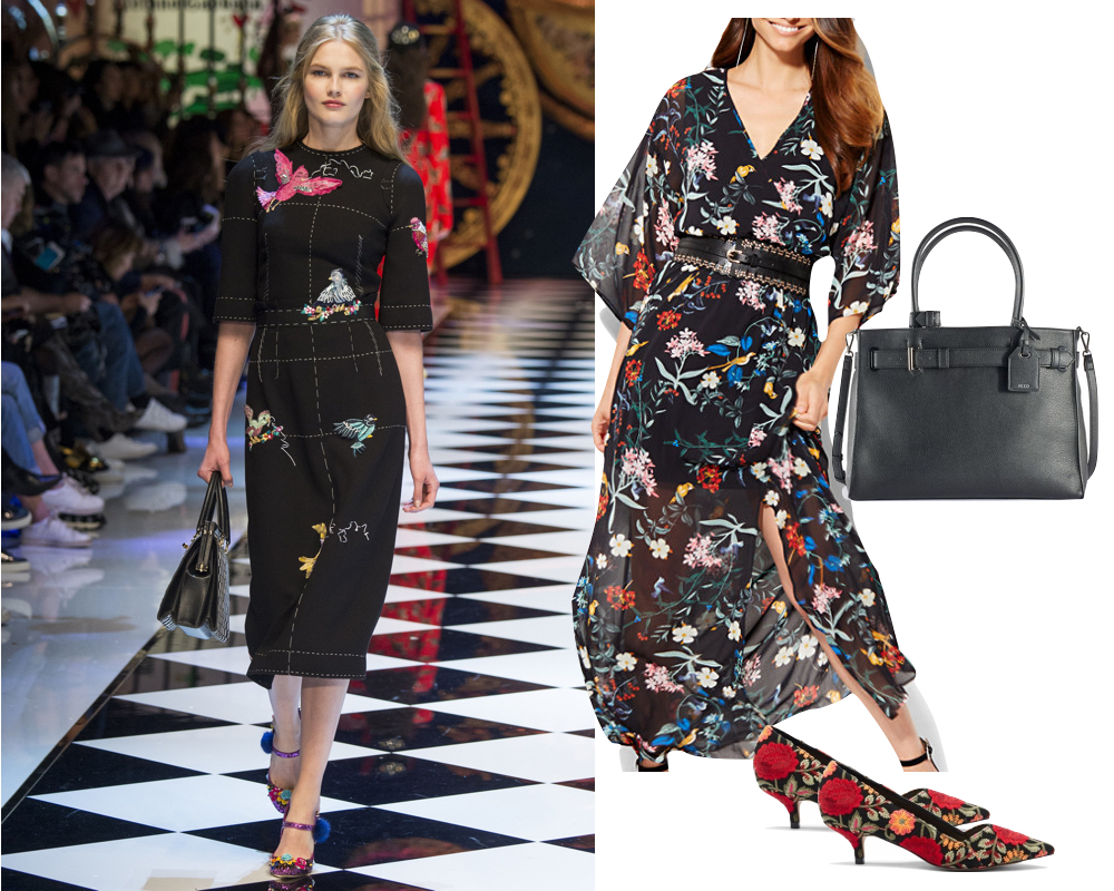 Kelly's Chic Under $100 - Runway Style for Under $100 - Fall 2016 - The Stripe Blog // Inspired by Dolce & Gabbana FW 2016