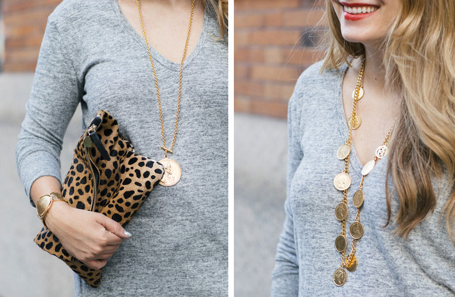 The Stripe x Ben-Amun // Roman Coin Jewelry Collection - Grace Atwood