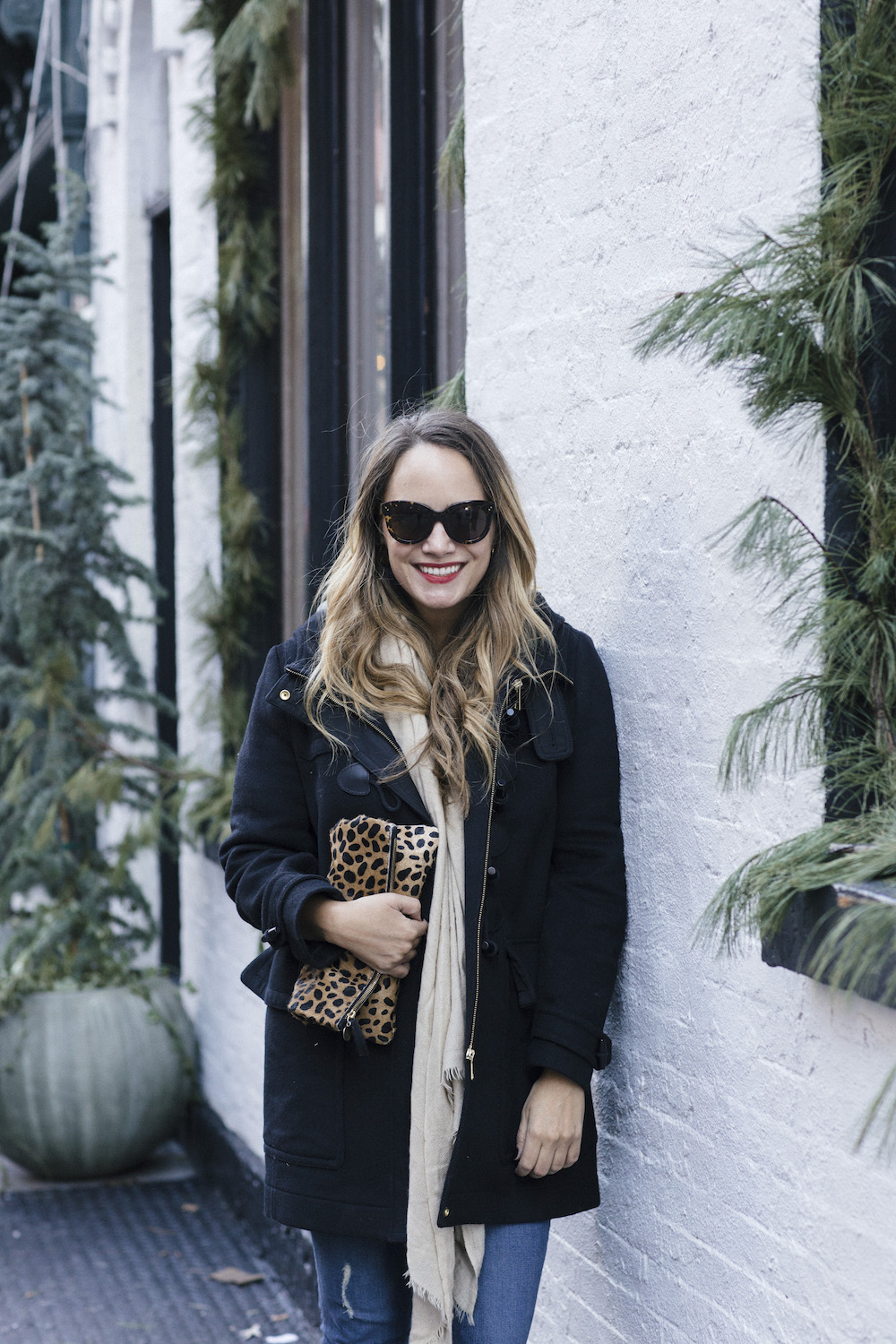Burberry Duffle Coat | Grace Atwood, The Stripe