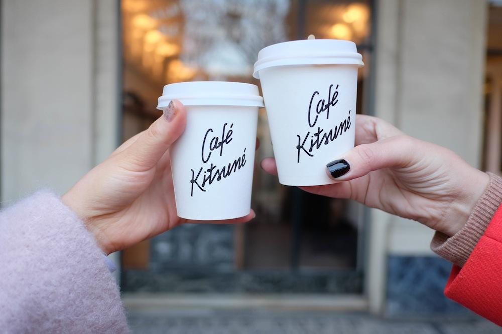 48 hours in paris - café kitsuné