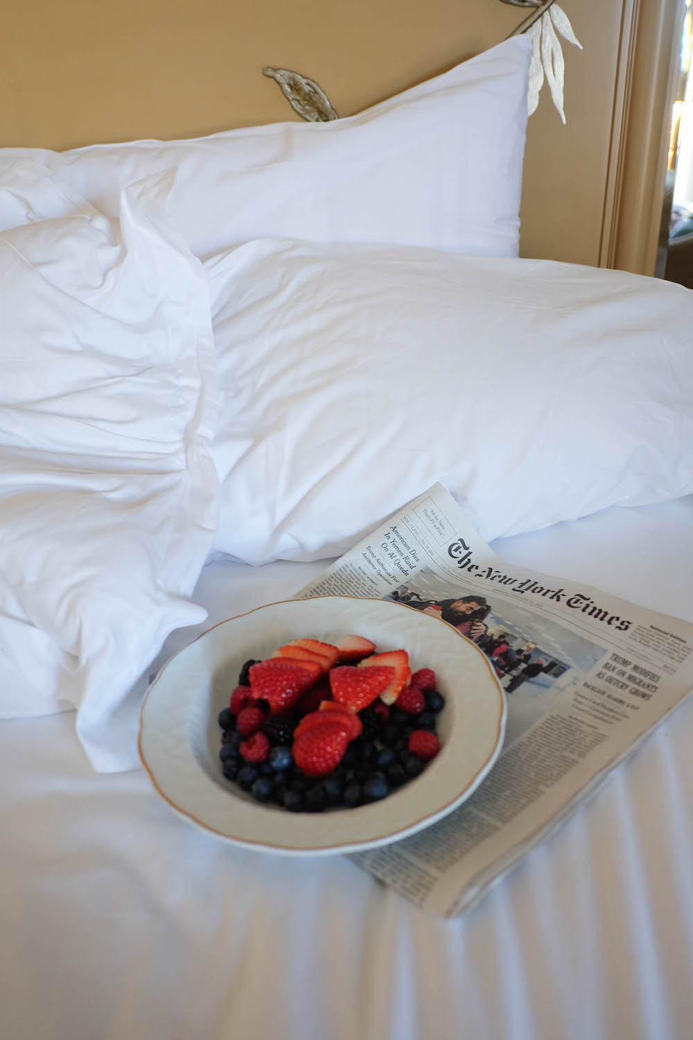 berries and the new york times