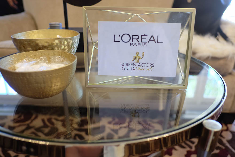 how to get ready for a big night out - the sag awards with l'oreal // grace atwood, the stripe