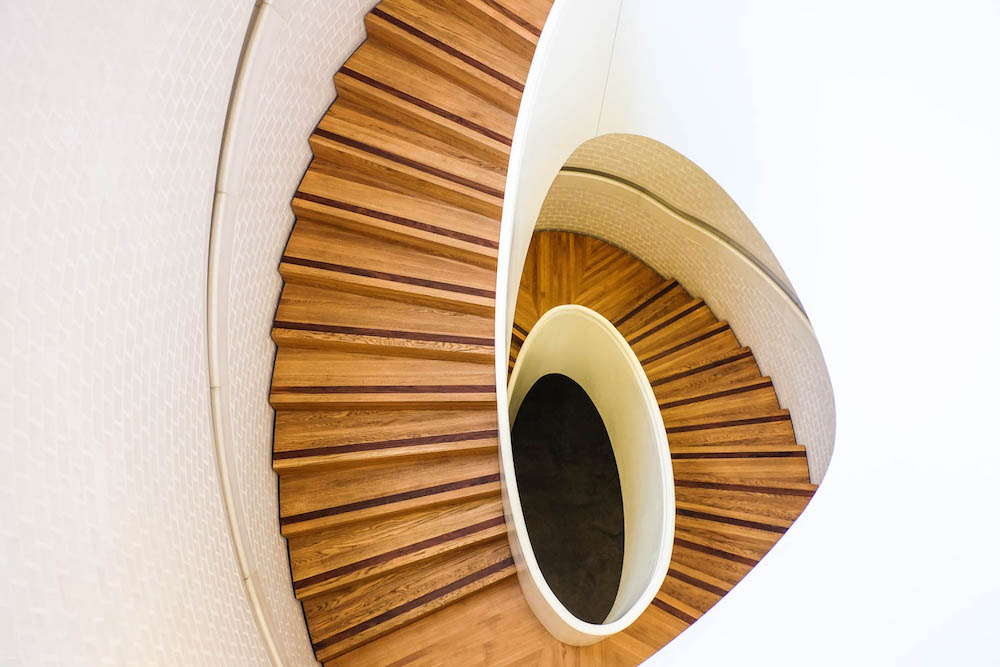 damien hirst newport street gallery - staircase | the stripe, 36 hours in london
