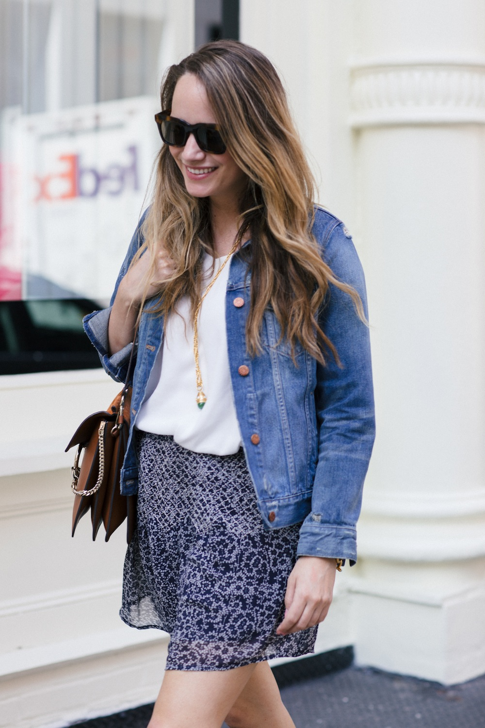 easy blue and white look for Spring   The Stripe
