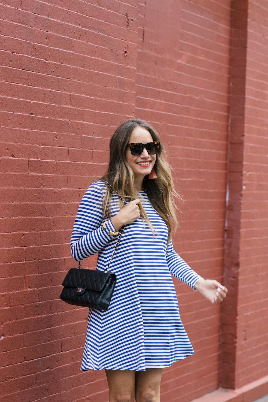 jane hudson stripe dress | grace atwood, the stripe
