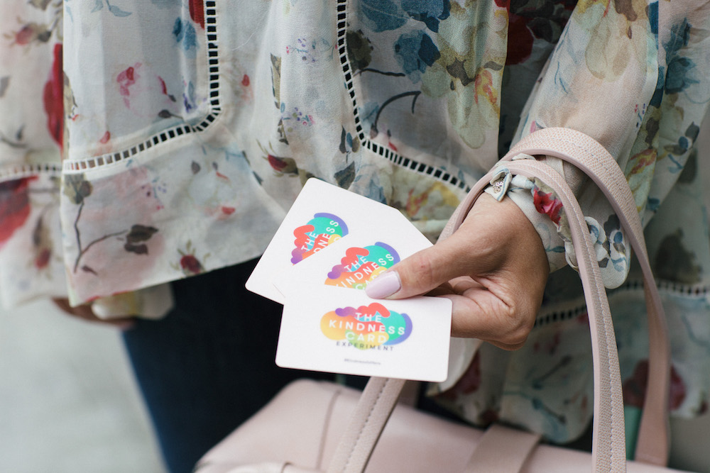 the kindness card experiment nyc | the stripe