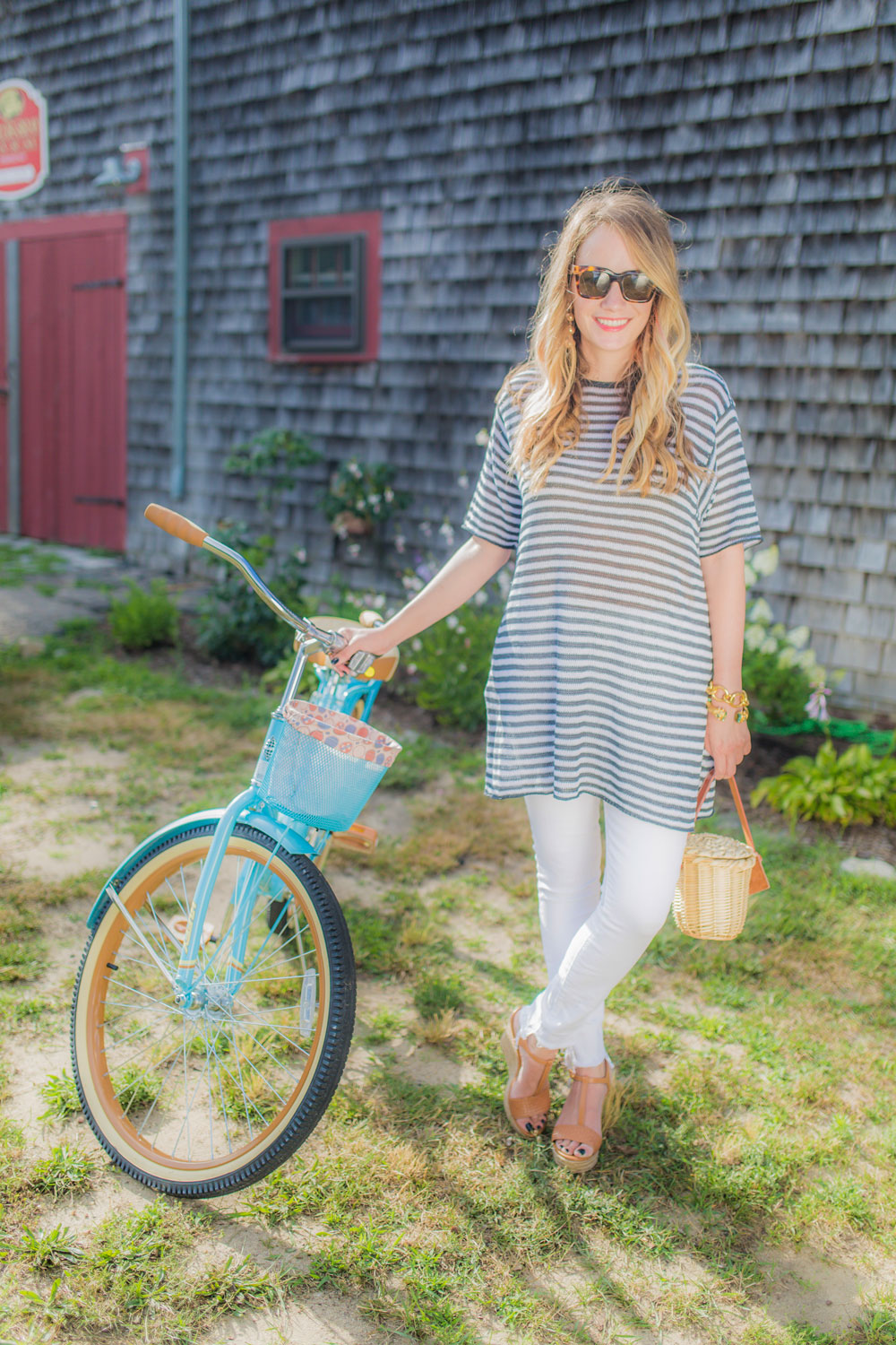the best white jeans | the stripe