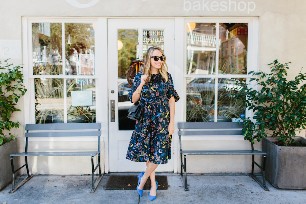 sugar bakeshop in charleston! vivetta montpellier dress from hampden clothing   grace atwood, the stripe