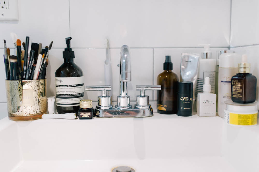 my bedtime skincare routine | grace atwood, the stripe