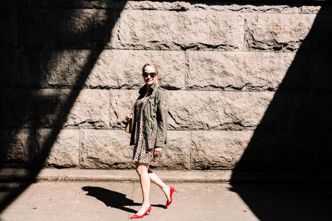 The casual leopard dress - The Stripe