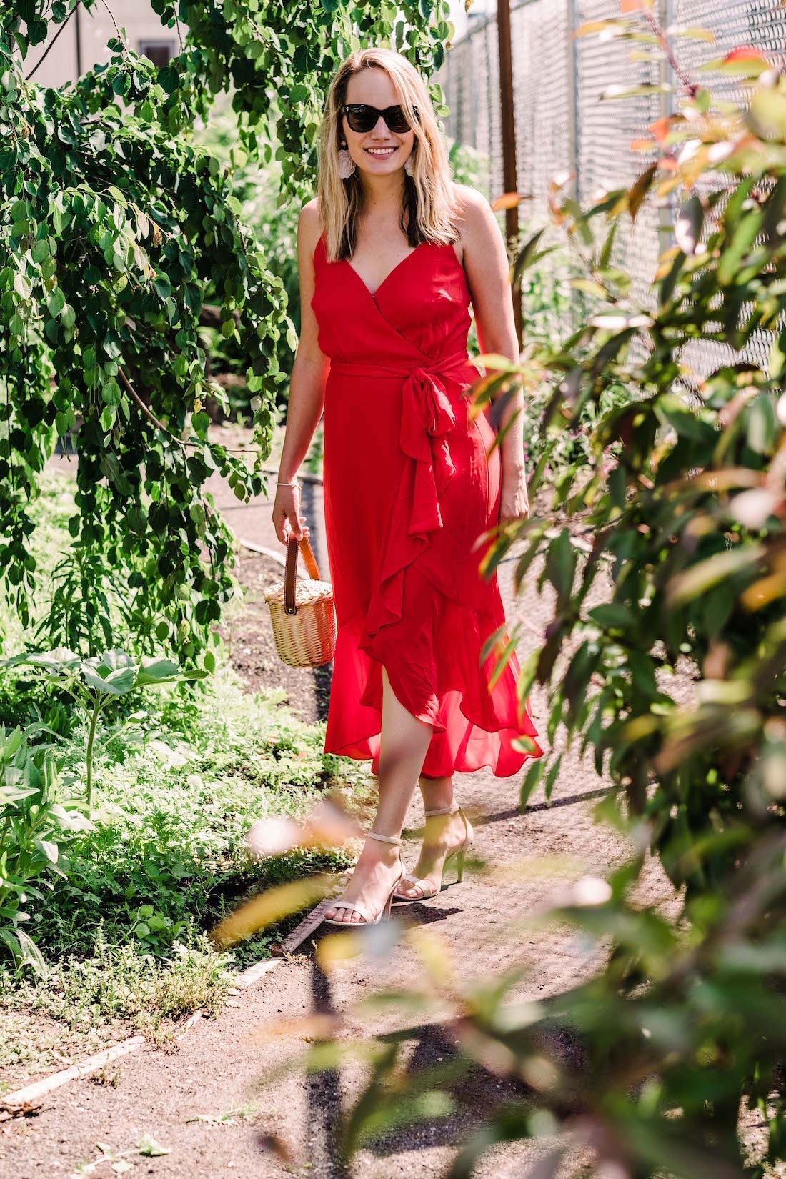 Emoji Dress - j.crew red wrap dress featured - The Stripe