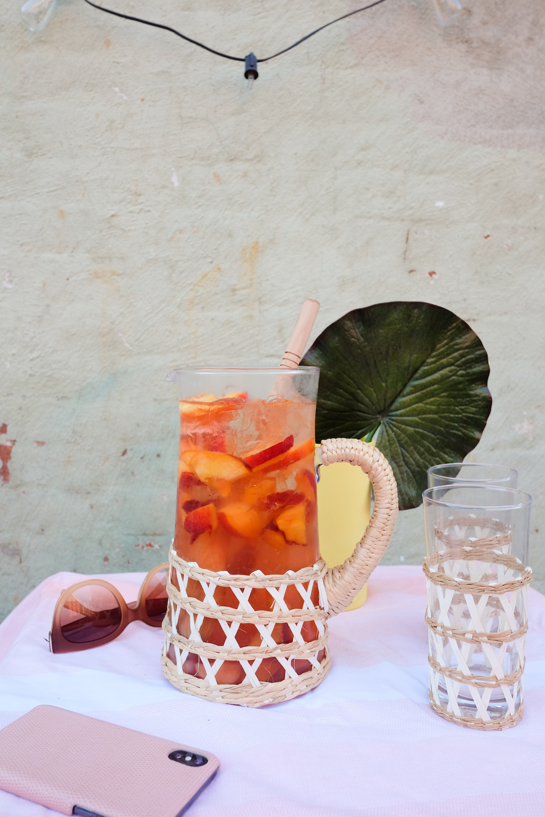 easy summer rosé punch | the stripe