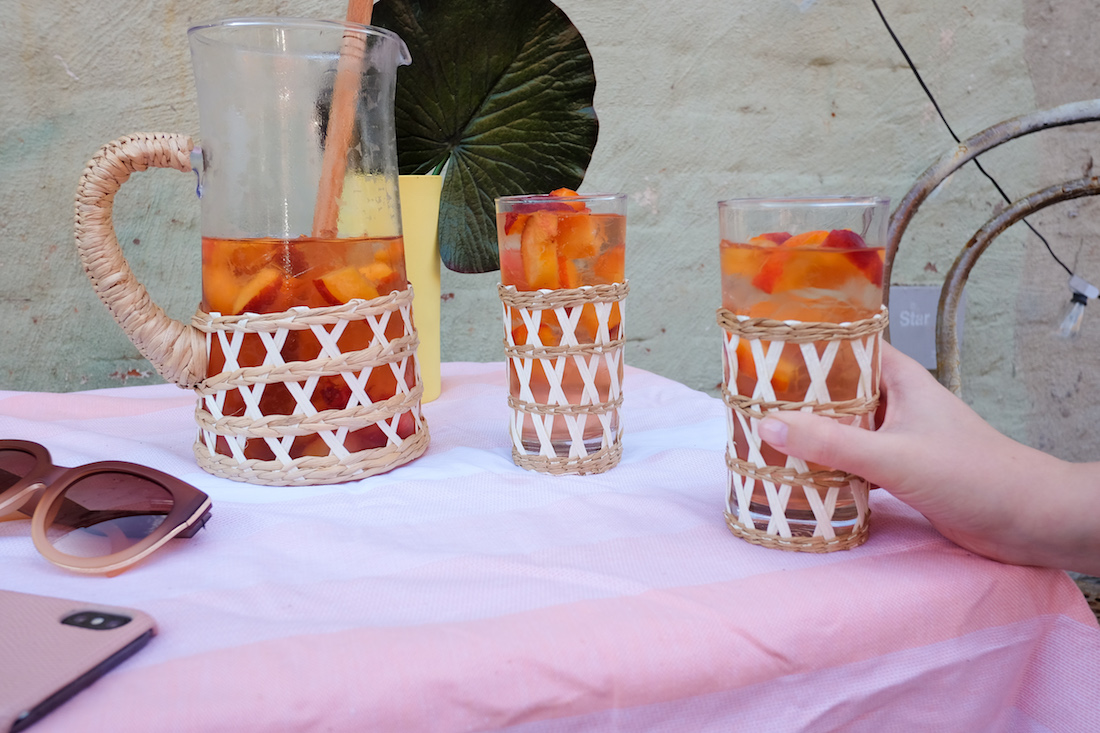 An Easy Summer Rosé Punch Recipe   The Stripe