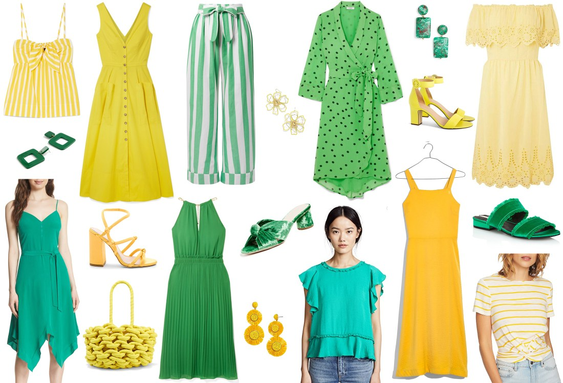 Colors For Summer: Yellow and Green