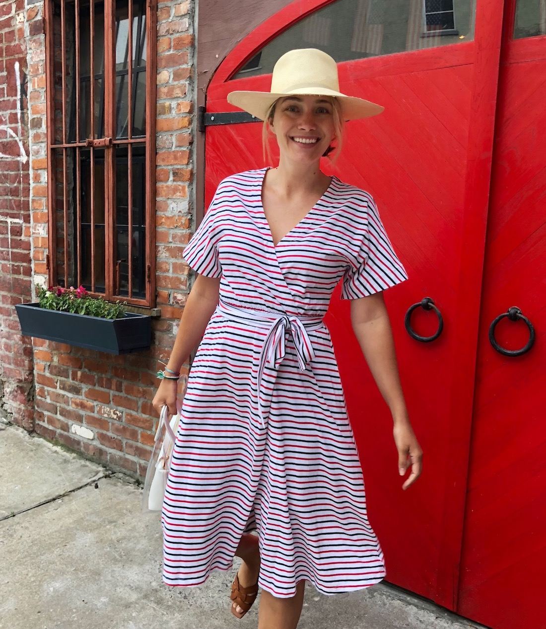 mds stripes dress for the 4th of july