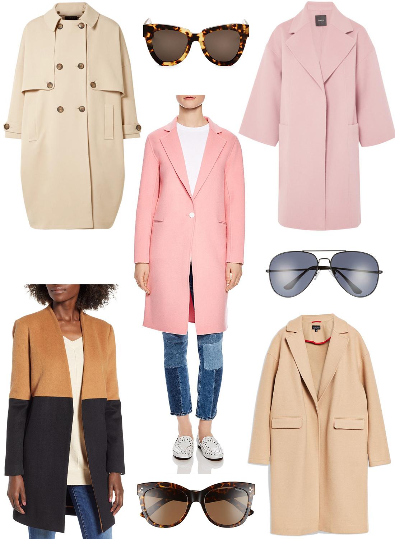 Fall Coat Shopping.