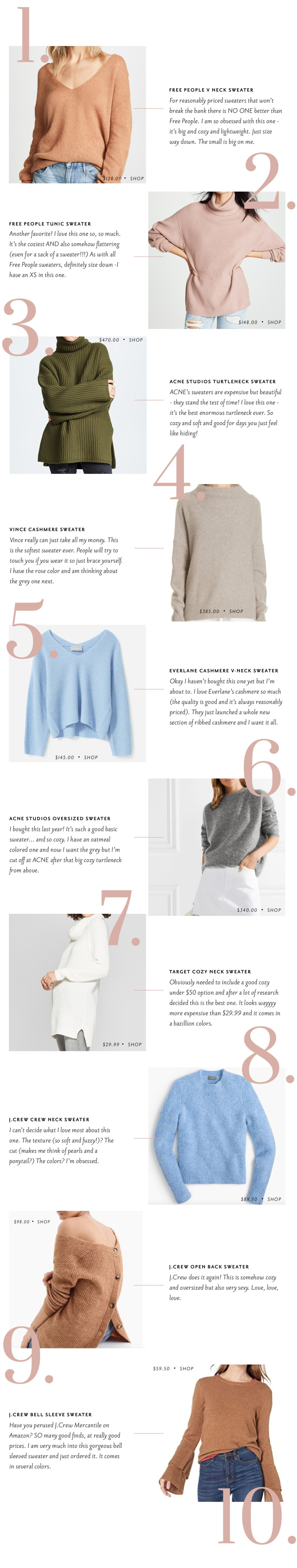 Sweaters for Fall - The Stripe