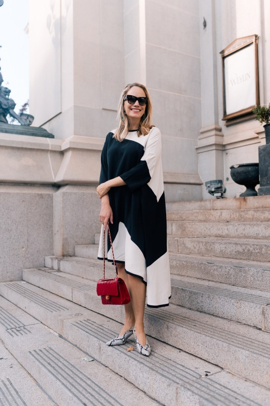 HENRIK VIBSKOV Fab colour block oversize dress