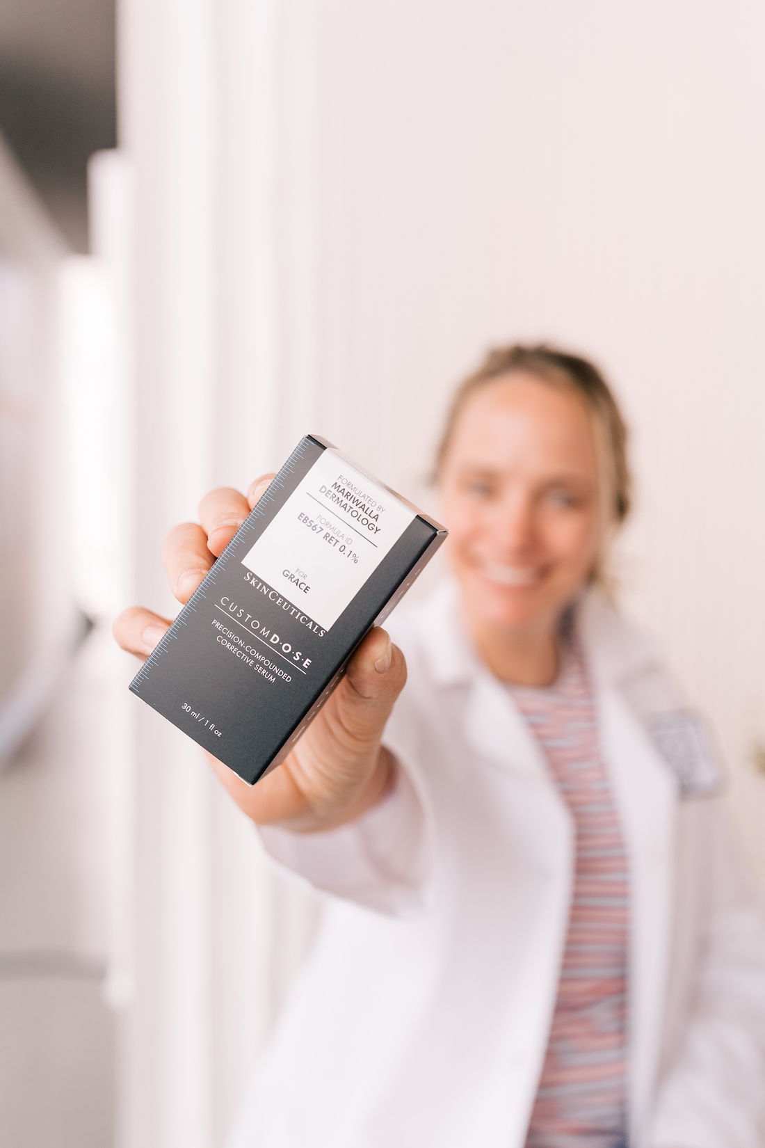 Skinceuticals Custom D.O.S.E. Serum with Mariwalla Dermatology - The Stripe
