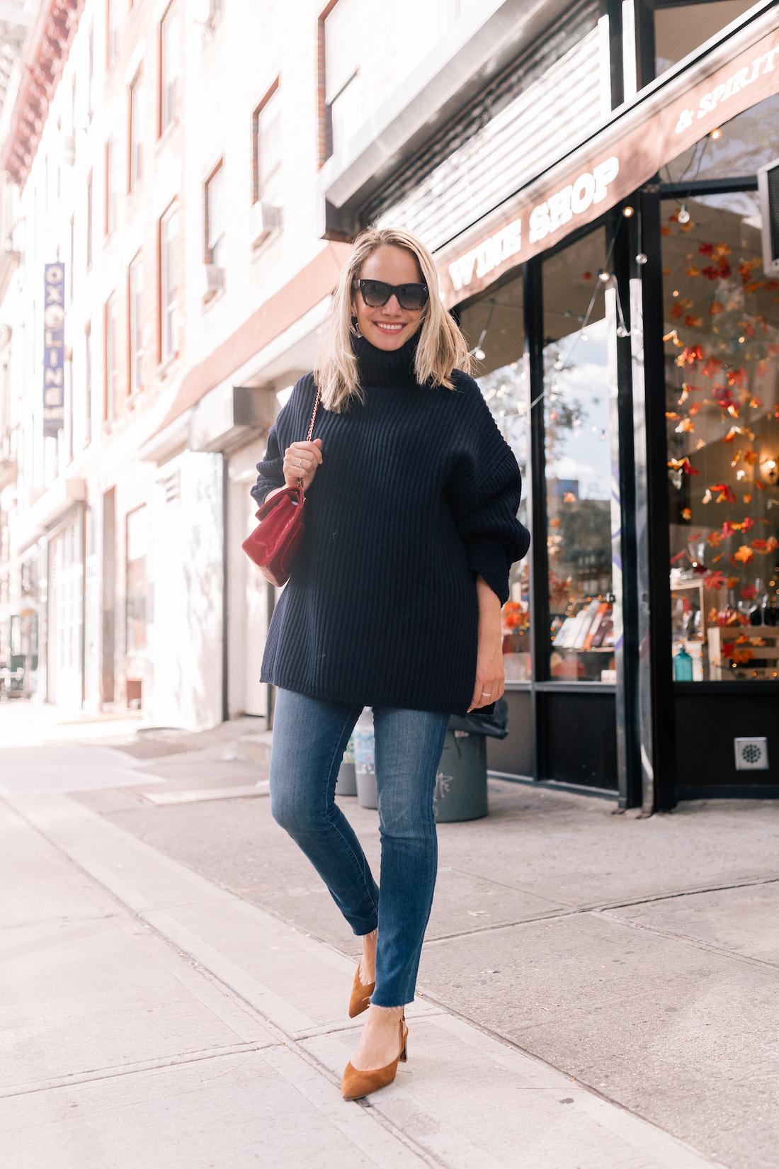 ACNE STUDIOS Oversized wool turtleneck sweater