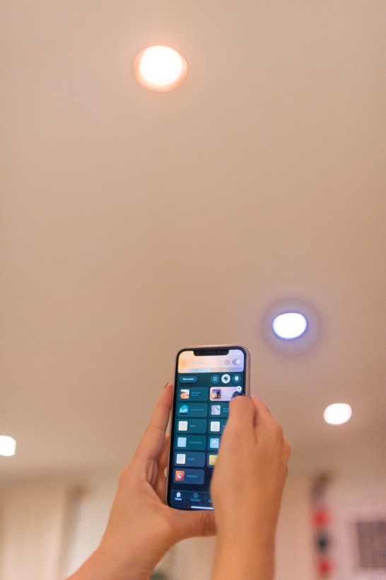 I love my Philips Hue lighting system