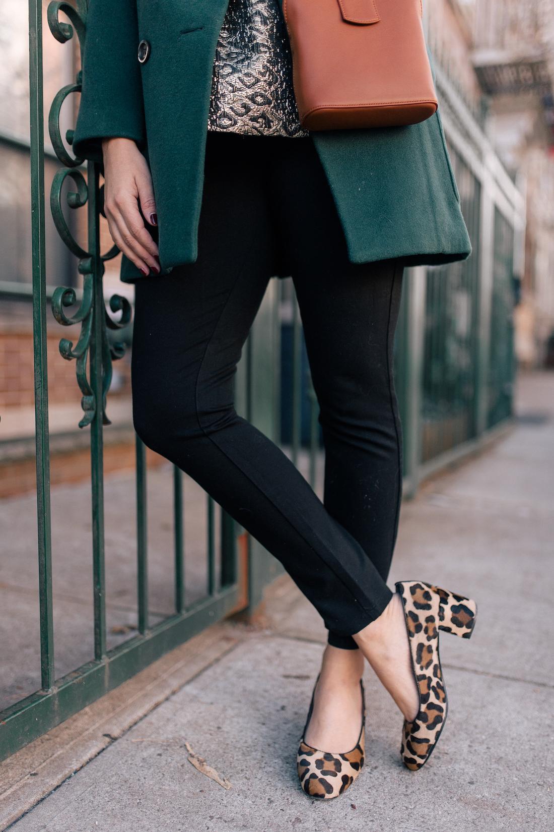 NYDJ Leggings // Margaux Heels// Parisa Wang Bag(c/o)