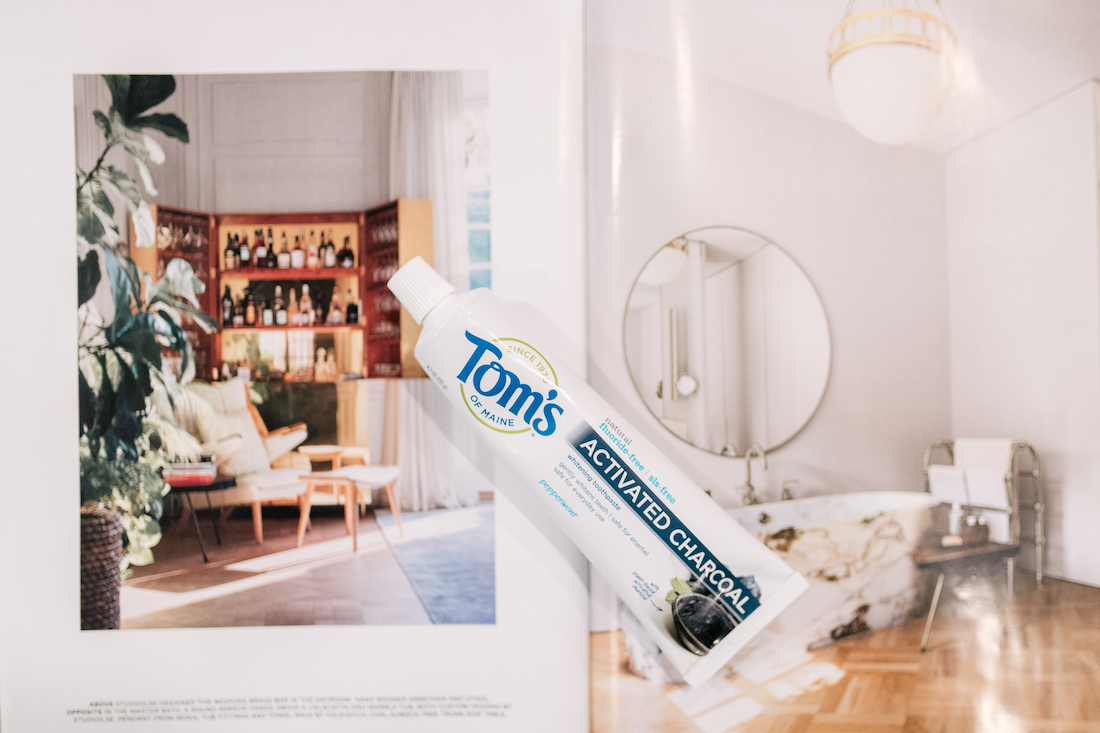 Tom's of Maine had launcheda new activated charcoal toothpaste