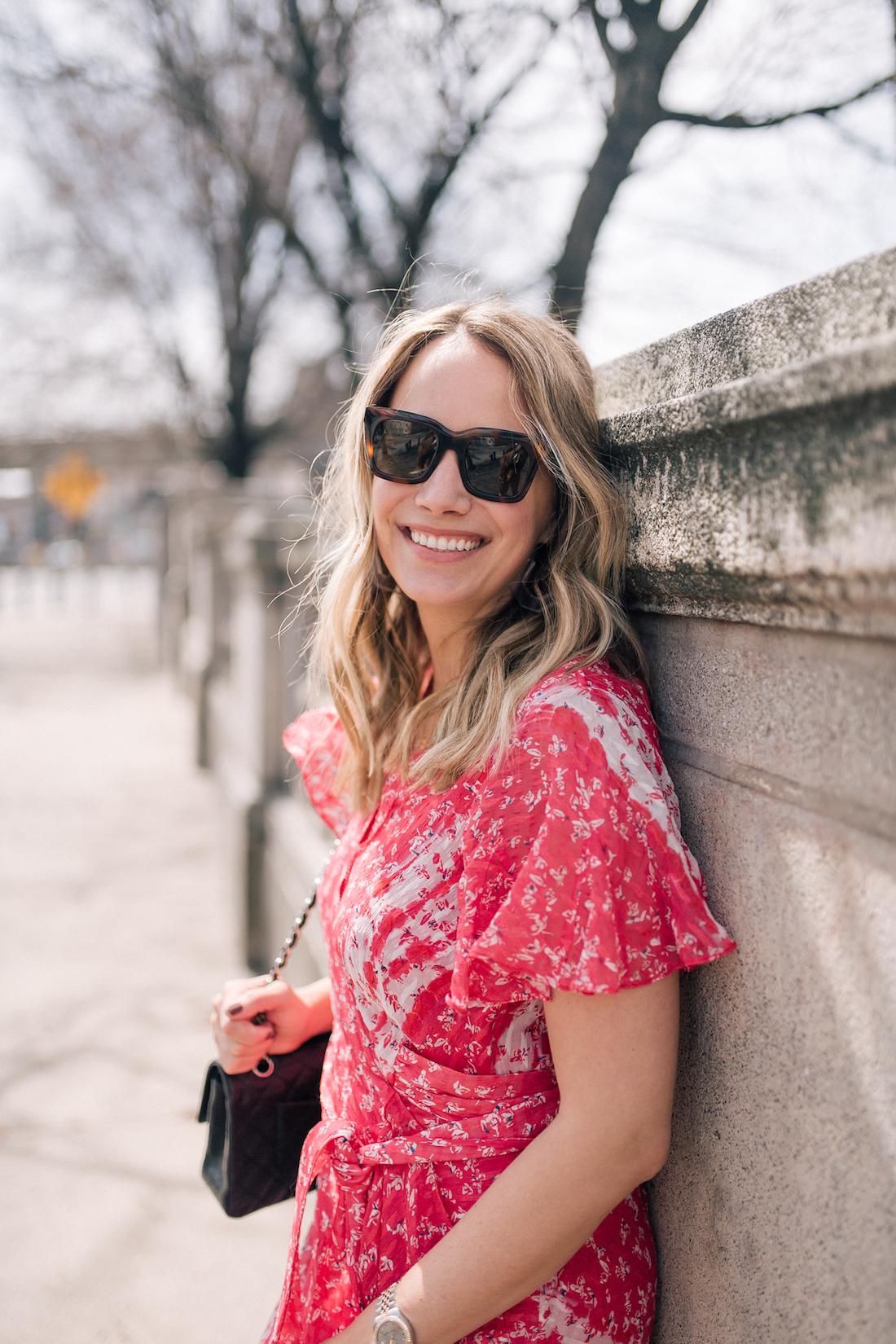 Grace Atwood is wearing Celine Sunglasses