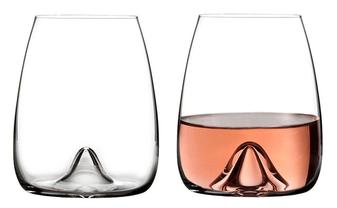 New Stemless Wine Glasses
