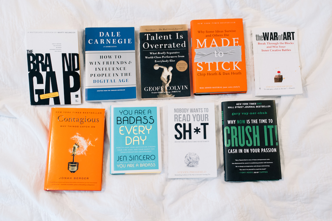 The 9 books Grace loves for business advice