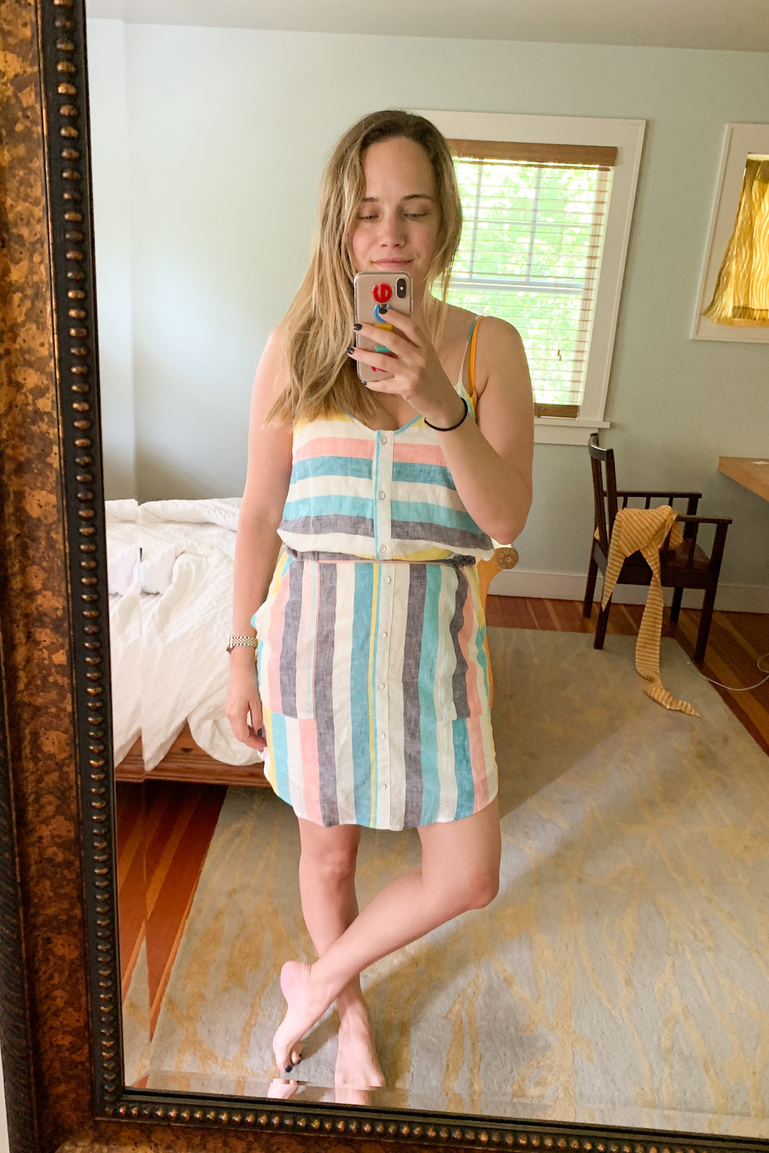 what I wore: Gray Malin x Splendid Dress