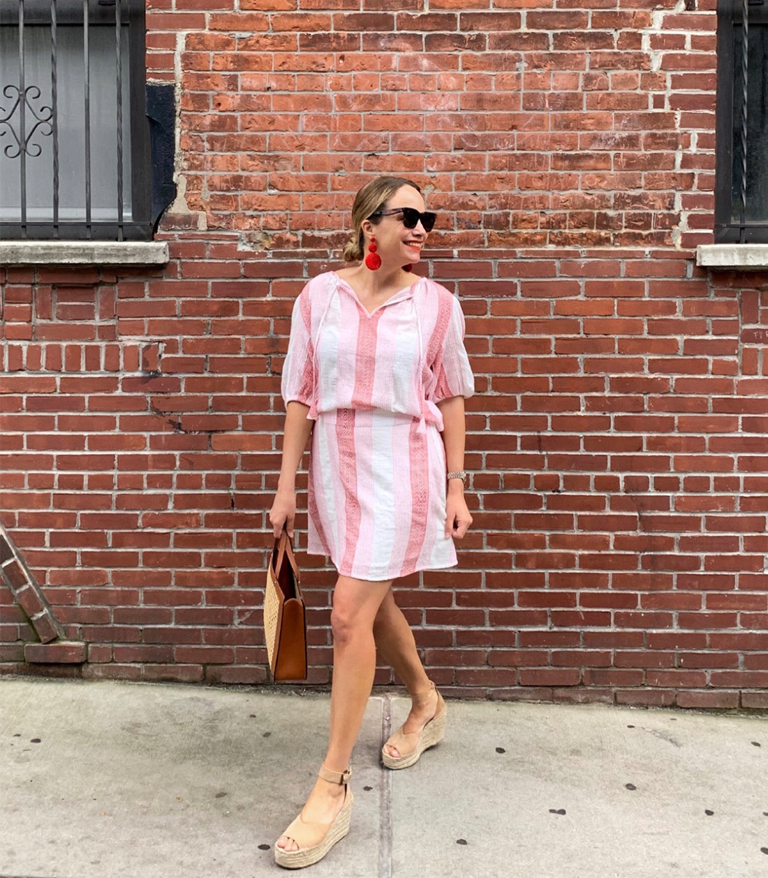 What I Actually Wore: 6.22 - 6.28. - striped dress