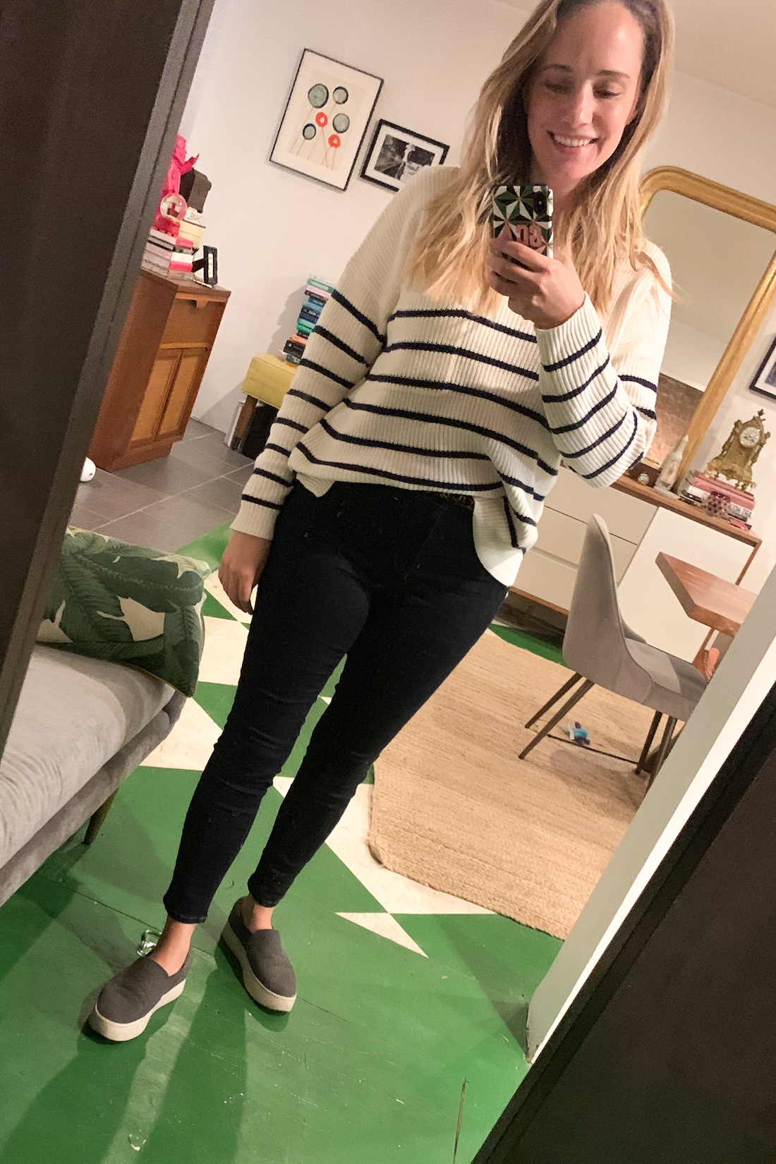 What I Actually Wore: 9.21 - 9.27. striped top