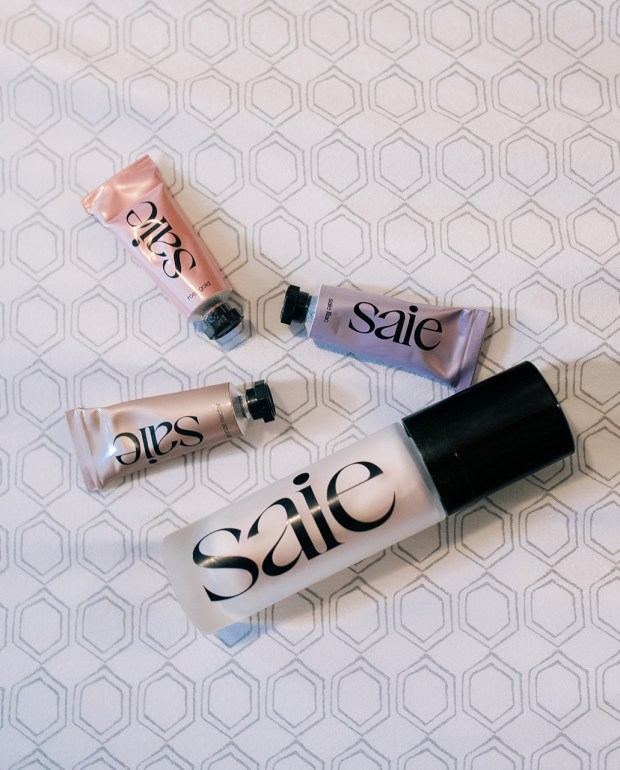 Saie's new GLOW Products