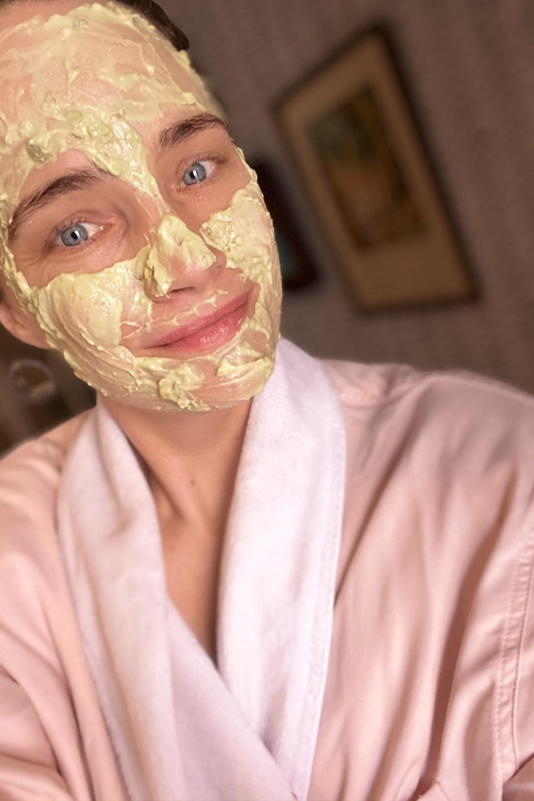 DIY Avocado Honey Yogurt Face Mask