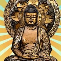 My mother's Buddhist shrine