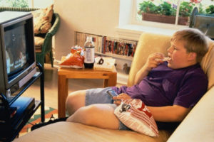 Connected families-obese kid