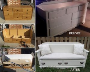 Thrifty with furniture