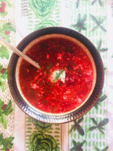 recipe exchange borscht