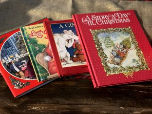 Christmas books, a small portion