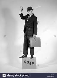 standing on a soap box for politics