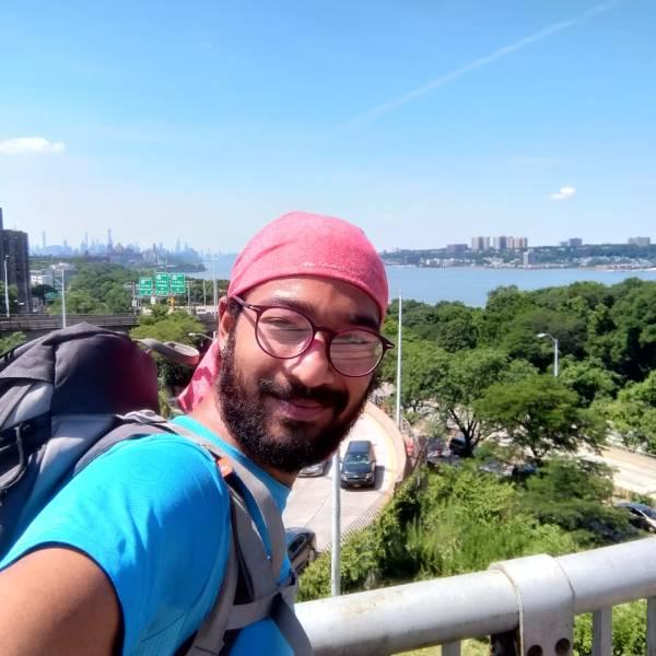 Backpacking through New York