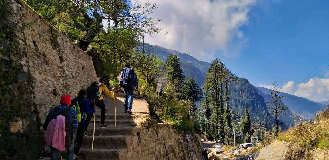 Kheerganga Trek: Low on Budget, High on Adventure