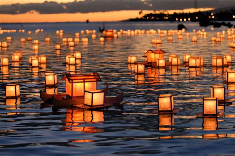 Toro Nagashi- Floating Lanterns