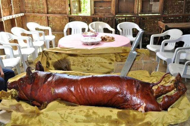 Lechon Dinner, Philippines