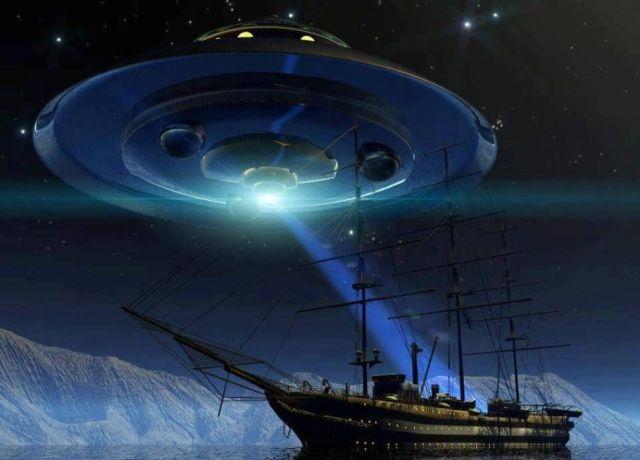 Aliens In The Bermuda Triangle