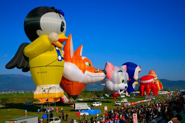 Saga International Balloon Fiesta, Japan