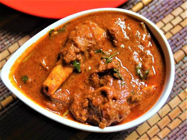 Kosha Mangsho (Mutton Curry), Kolkata
